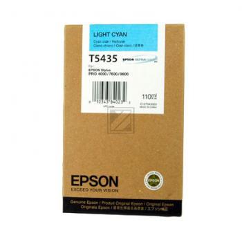 EPSON STYLUS PRO 7600 TINTE HELL CYAN 110ml, Kapazität: 110ml