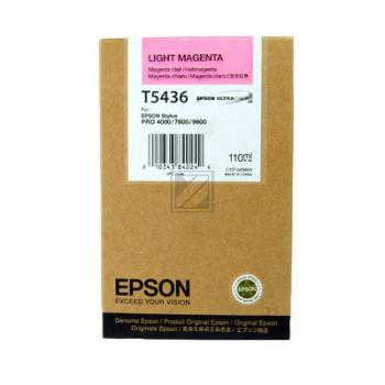 Epson Tintenpatrone magenta light (C13T543600, T5436)