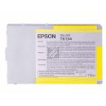 Epson Tintenpatrone gelb High-Capacity (C13T614400, T6144)