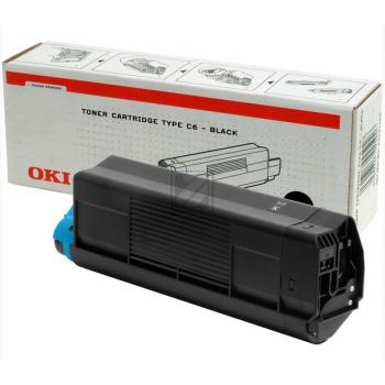 OKI Toner-Kit schwarz High-Capacity (42127408, TYPE-C6)