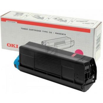 OKI Toner-Kit magenta High-Capacity (42127406, TYPE-C6)