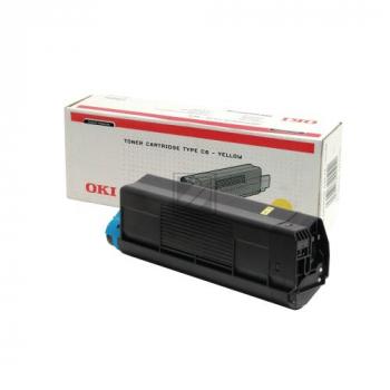 OKI Toner-Kit gelb High-Capacity (42127405, TYPE-C6)