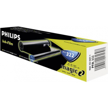 Philips Thermo-Transfer-Rolle schwarz (PFA-321 PFA-322 PFA-411)