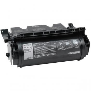 Lexmark Toner-Kartusche schwarz High-Capacity (12A7462)