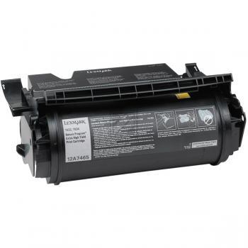 Lexmark Toner-Kartusche schwarz High-Capacity plus (12A7465)
