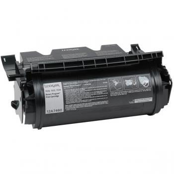 Lexmark Toner-Kartusche schwarz (12A7460)