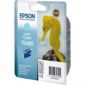 Epson Tintenpatrone cyan light (C13T04854010, T0485)