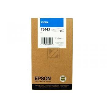 Epson Tintenpatrone cyan High-Capacity (C13T614200, T6142)