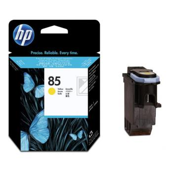 Original HP C9422A / 85 Tinte Gelb