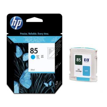 Hewlett Packard Tintenpatrone cyan (C9425A, 85)