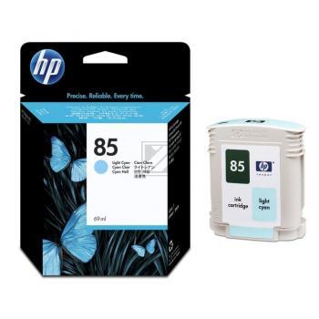 Hewlett Packard Tintenpatrone cyan light (C9428A, 85)