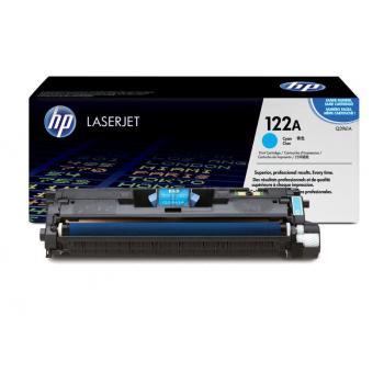 Hewlett Packard Toner-Kartusche cyan High-Capacity (Q3961A, 122A)