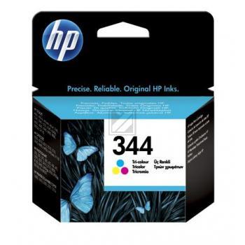 Hewlett Packard Tintenpatrone cyan/gelb/magenta High-Capacity (C9363EE, 344)