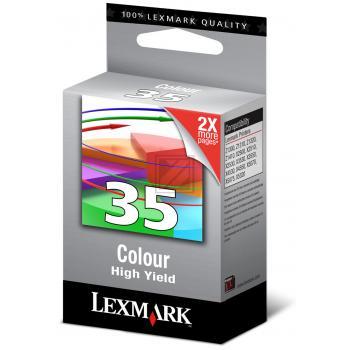 Lexmark Tintendruckkopf 3-farbig High-Capacity (18C0035E, 35)