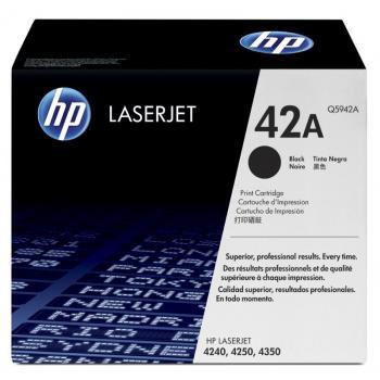 Hewlett Packard Toner-Kartusche schwarz (Q5942A, 42A)