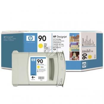 Hewlett Packard Tintenpatrone gelb (C5064A, 90)