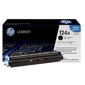 Hewlett Packard Toner-Kartusche schwarz (Q6000A, 124A)
