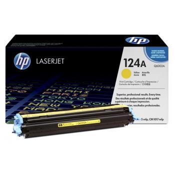 Hewlett Packard Toner-Kartusche gelb (Q6002A, 124A)
