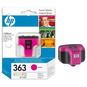 Hewlett Packard Tintenpatrone magenta (C8772EE, 363)