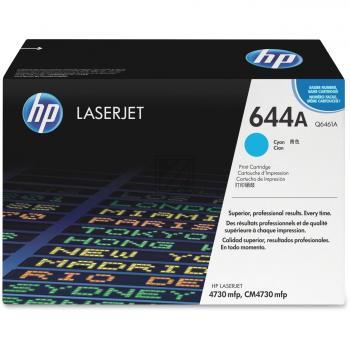 Hewlett Packard Toner-Kartusche cyan (Q6461A, 644A)