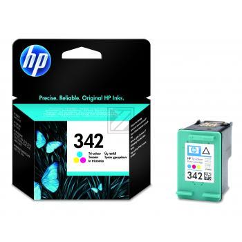 Hewlett Packard Tintenpatrone cyan/gelb/magenta (C9361EE, 342)