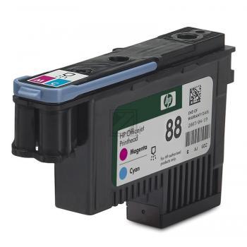 Hewlett Packard Tintendruckkopf cyan/magenta (C9382A, 88)