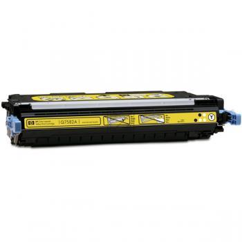 Hewlett Packard Toner-Kartusche gelb (Q7582A, 503A)