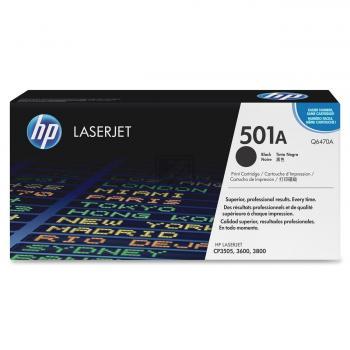 Hewlett Packard Toner-Kartusche schwarz (Q6470A, 501A)