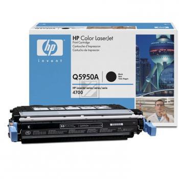 Hewlett Packard Toner-Kartusche schwarz (Q5950A, 643A)
