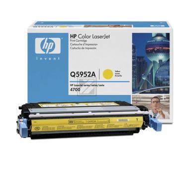 Hewlett Packard Toner-Kartusche gelb (Q5952A, 643A)