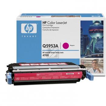 Hewlett Packard Toner-Kartusche magenta (Q5953A, 643A)