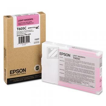 Epson Tintenpatrone magenta light (C13T605C00, T605C)