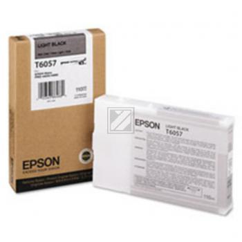 Epson Tintenpatrone Ultra Chrome K3 schwarz light (C13T605700, T6057)