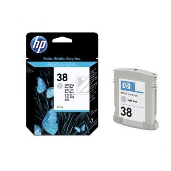 Hewlett Packard Tintenpatrone hellgrau (C9414A, 38)
