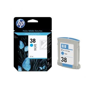 Hewlett Packard Tintenpatrone cyan (C9415A, 38)