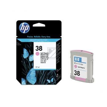 Hewlett Packard Tintenpatrone magenta light (C9419A, 38)