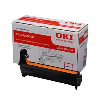 OKI Fotoleitertrommel magenta (43381706)