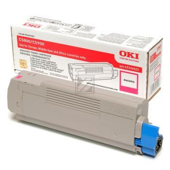 OKI Toner-Kit magenta (43324422)