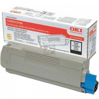 OKI Toner-Kit schwarz (43324424)