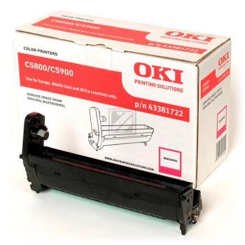 OKI Fotoleitertrommel magenta (43381722)