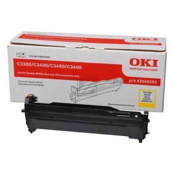 OKI Fotoleitertrommel gelb (43460205)