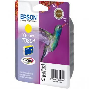 Epson Tintenpatrone gelb (C13T08044010, T0804)