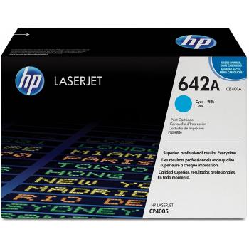 Hewlett Packard Toner-Kartusche cyan (CB401A, 642A)