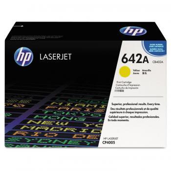 Hewlett Packard Toner-Kartusche gelb (CB402A, 642A)