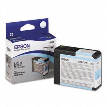 Epson Tintenpatrone Ultra Chrome K3 cyan light (C13T580500, T5805)