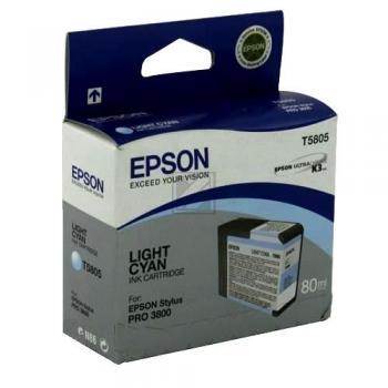 Epson Tintenpatrone cyan light (C13T580500, T5805)