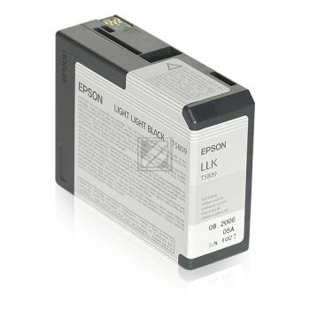 Epson Tintenpatrone schwarz light, light (C13T580900, T5809)