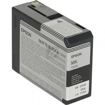 Epson Tintenpatrone Ultra Chrome K3 schwarz matt (C13T580800, T5808)