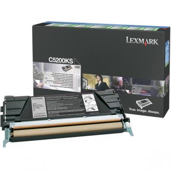 Lexmark Toner-Kartusche schwarz (C5200KS)