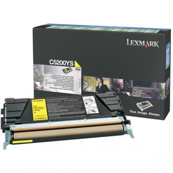 Lexmark Toner-Kartusche gelb (C5200YS)